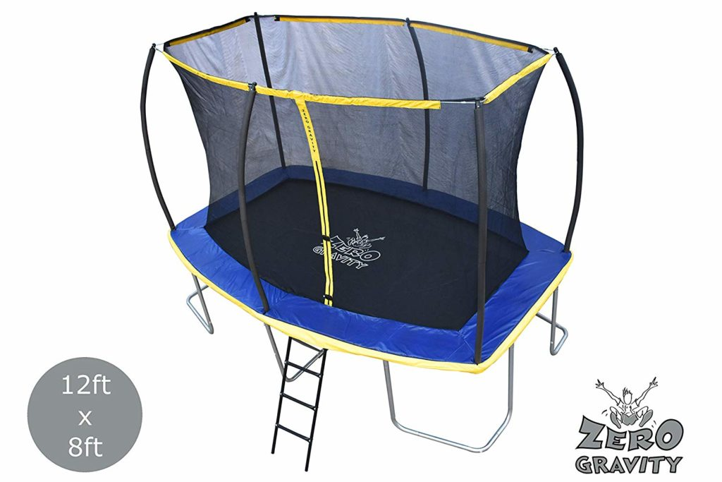 Zero Gravity 12ft x 8ft Rectangular trampoline