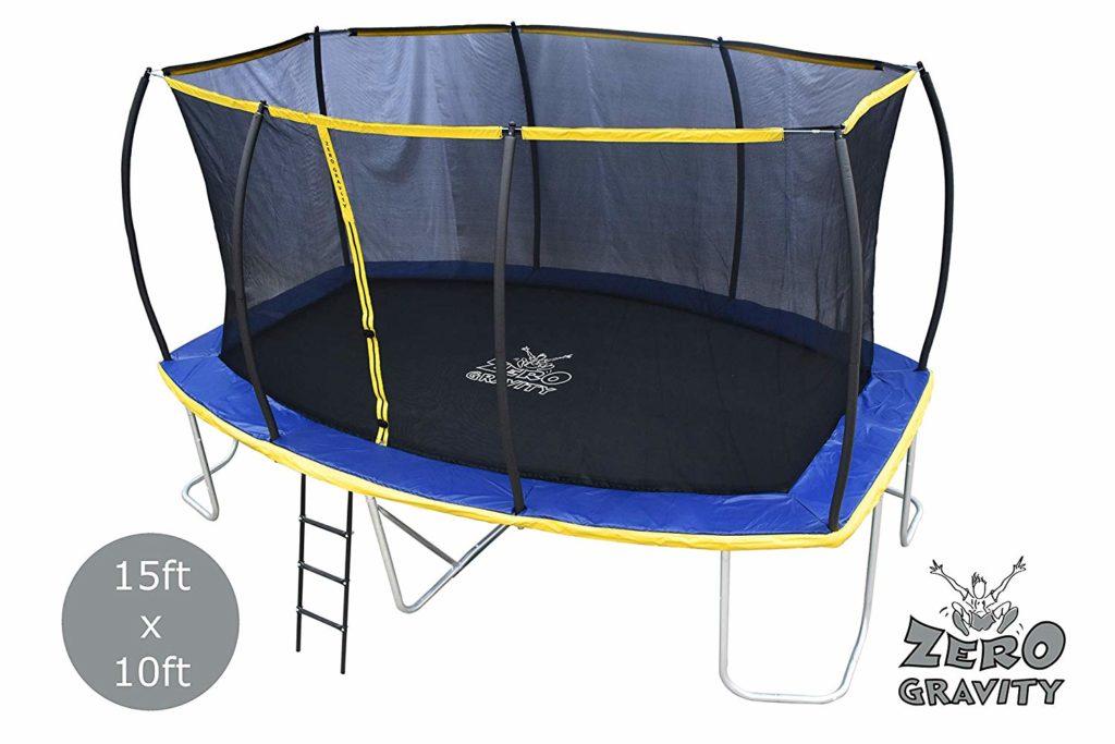 Zero Gravity 15ft x 10ft Rectangular trampoline