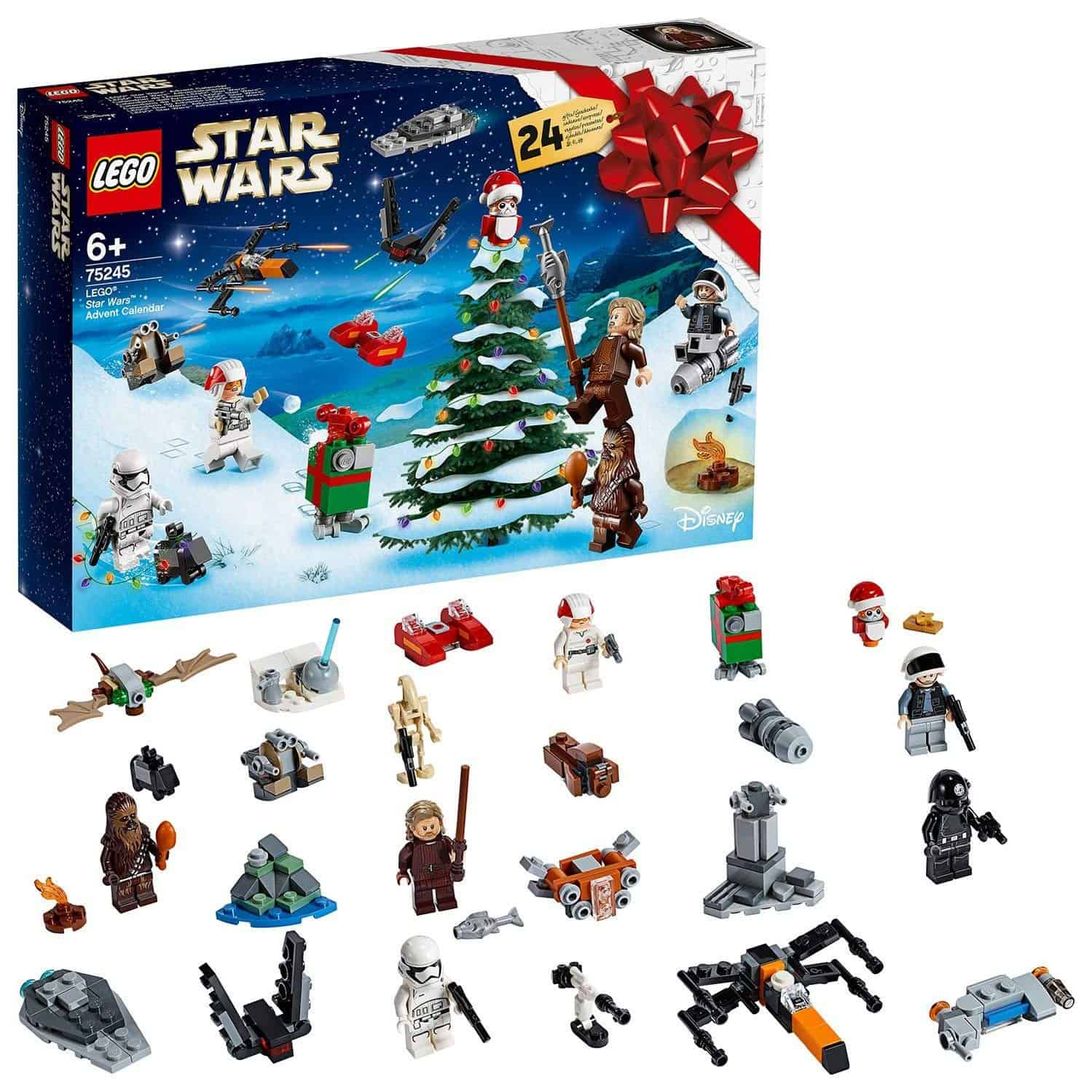 Lego advent calendar 2019